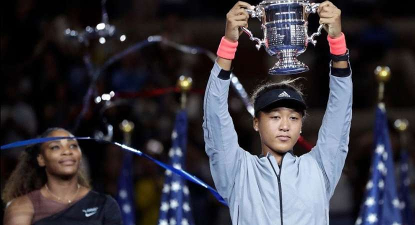 US Open Final: Naomi Osaka receives trophy in tears, amid audience boos