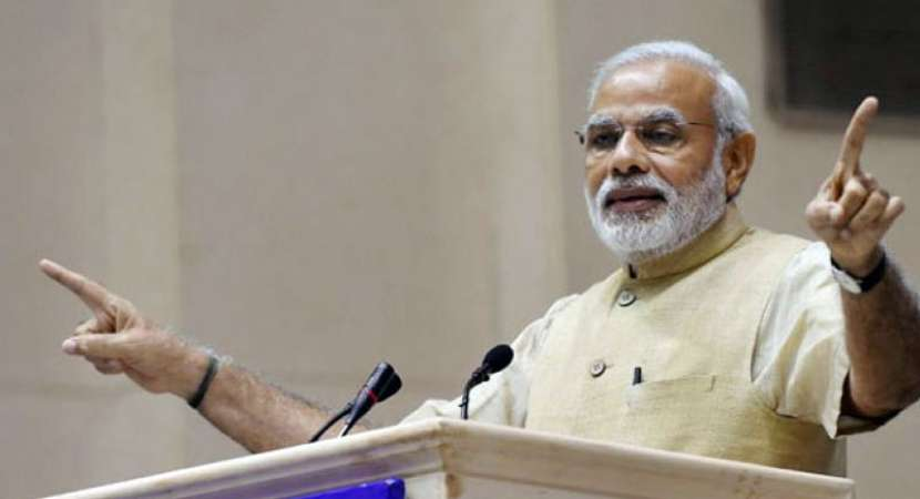 Modi sets tone for 2019 polls, attacks Mahaghatbandhan