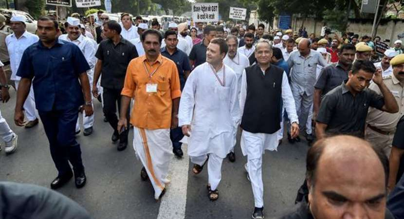 Modi government 'unnerved' by Bharat Bandh, says Congress
