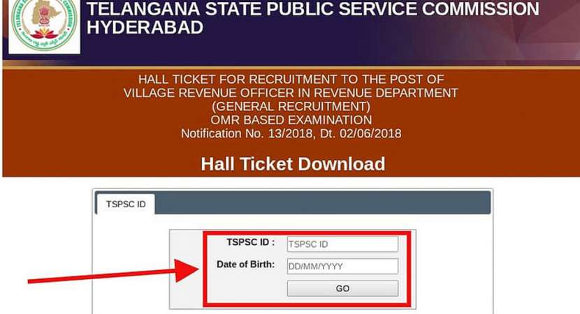 Telangana State Public Service Commission VRO hall ticket released: Details inside