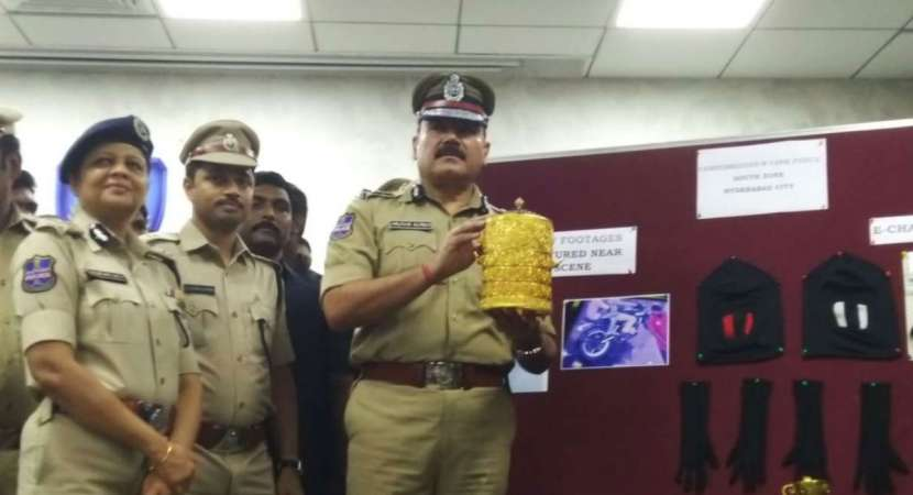 Gold tiffin box and antiques stolen from Nizam's Museum recovered, 2 held