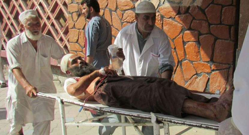 32 killed in suicide attack on protesters in Afghanistan