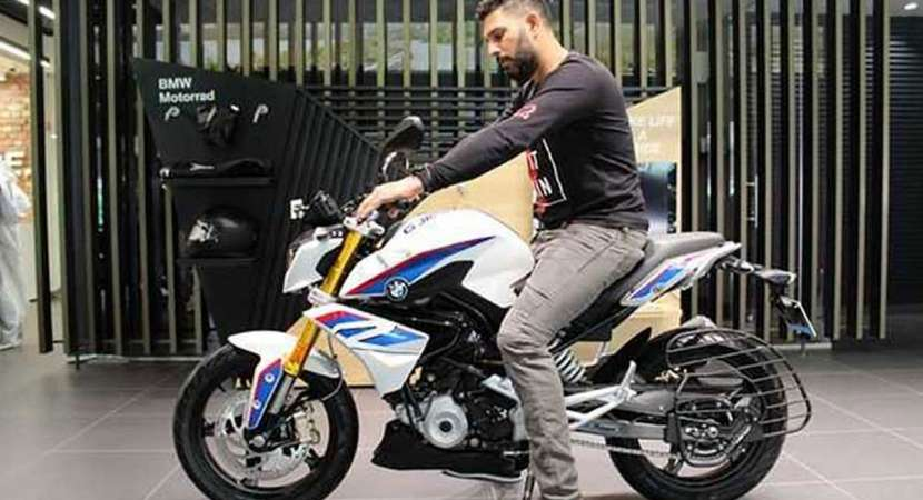 BMW G310R: Yuvraj Singh gets his new ride partner