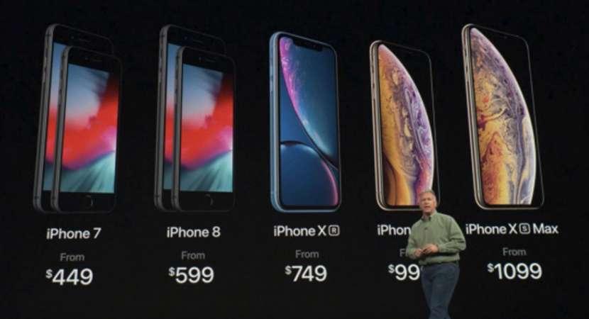 Apple unveils 3 iPhones with dual SIM, impressive cameras