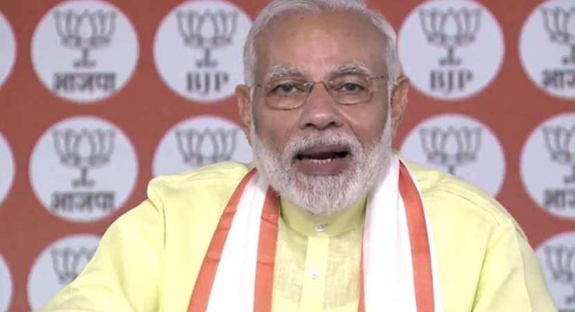 Congress in ICU, says PM Narendra Modi