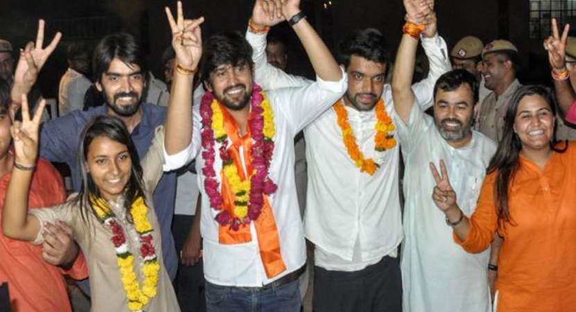 ABVP bags President, two other posts in DUSU polls
