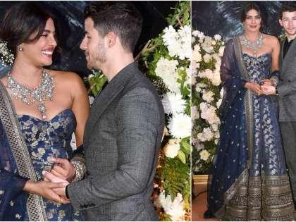 Priyanka Chopra Nick Jonas Mumbai Wedding Reception Pics And Videos